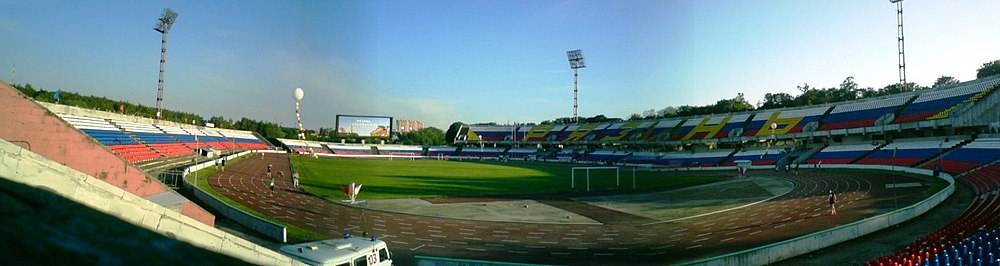 Panorama del estadio