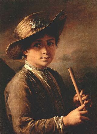 Мальчик с жалейкой. 1810
