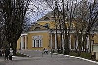 Усадьба Дурасова, Люблино, господский дом, аллея.JPG