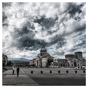 Stepanakert - Renaissance Square