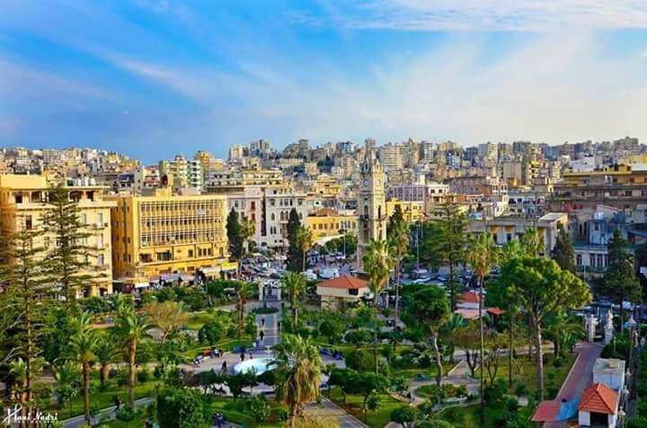 """حديقة البلدية في طرابلس """" المنشية """""""