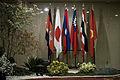 ธงชาติกลุ่มประเทศที่เข้าร่วมประชุมผู้นำลุ่มน้ำโขง ณ โร - Flickr - Abhisit Vejjajiva.jpg