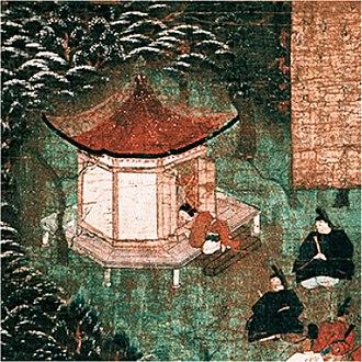 Rokkaku-dō - Old painting of the Rokkaku-dō