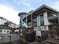 -2019-04-25 Brixham Harbour masters office and Rockfish restaurant (2).JPG
