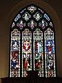 -2020-11-27 Stained glass window, Saint Mary's, Antingham (1).JPG