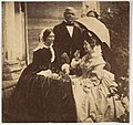 -Countess Canning with Guests, Government House, Allahabad- MET DP146127.jpg