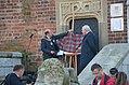 02017 0226 Krakau hat seinen Tartan, The Lord Provost of Edinburgh Frank Ross, Mayor of Kraków Jacek Majchrowski.jpg