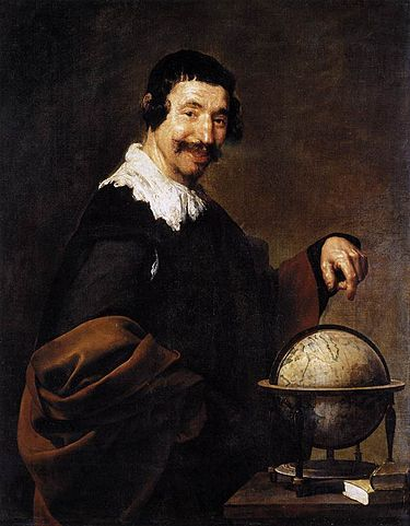 Демокрит, Диего Веласкес, 1628—1629 годы