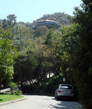 """John Lautner - Malin Residence (""""The Chemosphere""""), Los Angeles (1960)"""