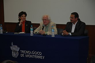 Johan Galtung - Galtung speaking at the Monterrey Institute of Technology and Higher Education, Mexico City.