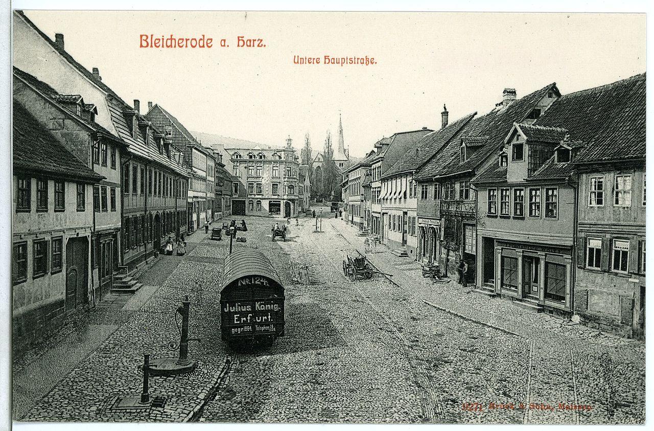 09271-Bleicherode-1907-Untere Hauptstraße-Brück & Sohn Kunstverlag.jpg