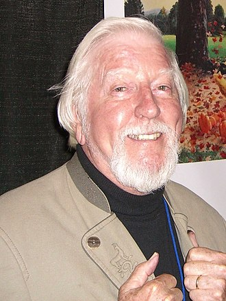 Caroll Spinney - Spinney at the New York Comic Con in Manhattan in October 2010
