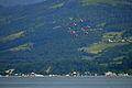 100 Jahre Dampfschiff Stadt Rapperswil - Sternfahrt - PC7 Kunstflugstaffel - Meilen 2014-05-23 18-10-01.JPG