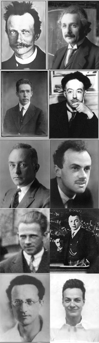 History of quantum mechanics - Image: 10 Quantum Mechanics Masters