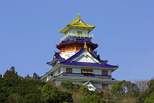 Azuchi Castle - Image: 110305 Imitation of Aduchi cstl