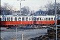 111R08161183 Bahnhof Simmering, Freigelände, Hinterstellte Fahrzeuge, Typ M 4149, Typ m3 5400.jpg
