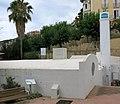 112 Banys termals de Caldes d'Estrac, vora la Riera.JPG