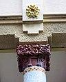 115 Casa Barbey, façana nord, porxo (la Garriga).JPG
