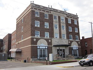 National Register of Historic Places listings in Edgar County, Illinois - Image: 118 E. Court St., Paris, IL