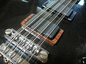 Twelve-string bass - HAMER B12S