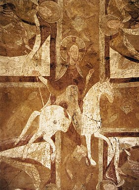 12th century unknown painters - Christ on the White Horse - WGA19722.jpg
