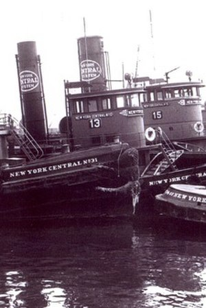 New York Central Tugboat 13 - Image: 13and sisterscropped