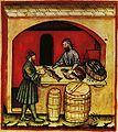 14-alimenti, pesci,Taccuino Sanitatis, Casanatense 4182..jpg