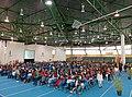 1500 niñas y niños de Latina participan en el pleno adolescente e infantil 03.jpg