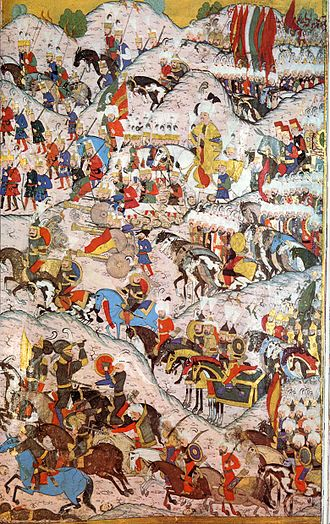 Battle of Mohács - Battle of Mohács 1526, Ottoman miniature