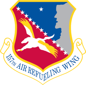 Pease Air National Guard Base - Image: 157th Air Refueling Wing
