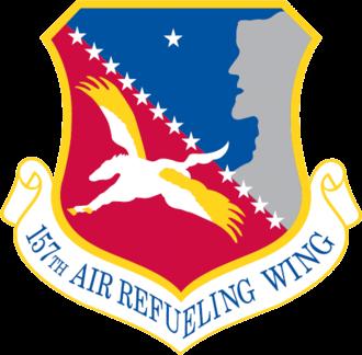 Pease Air National Guard Base - Image: 157th Air Refueling Wing