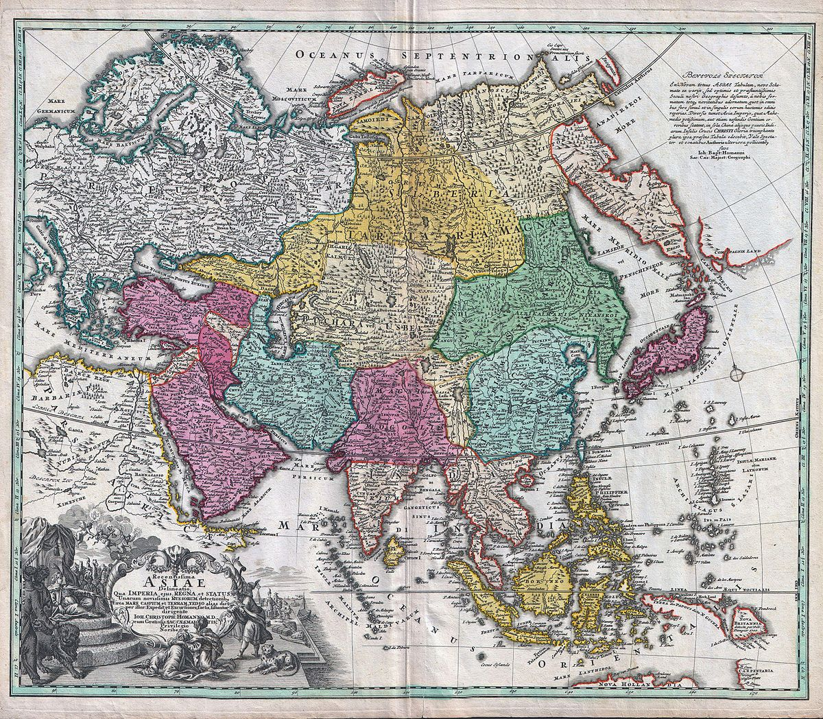 Geography of Asia Wikipedia – Asia Geography Map
