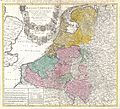 1747 Homann Heirs Map of Belgium and the Netherlands - Geographicus - BelgiiUniversi-homannheirs-1747.jpg
