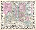 1867 Mitchell Map of Philadelphia, Pennsylvania - Geographicus - Philadelphia-mitchell-1867.jpg