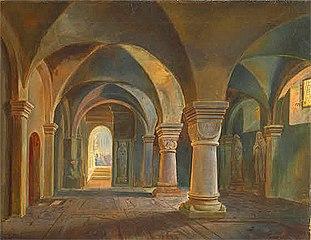 Crypt of the Saint Peter's Church, Fritzlar