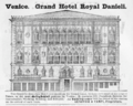 1885 Hotel Danieli Venice ad Harpers Handbook for Travellers in Europe.png