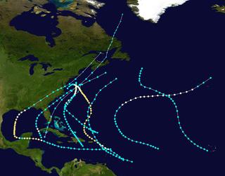 1889 Atlantic hurricane season hurricane season in the Atlantic Ocean