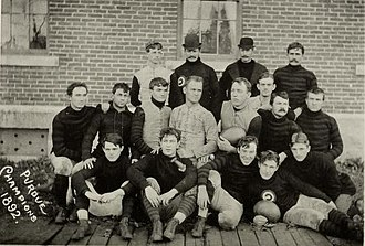 1892 Purdue Boilermakers football team - Image: 1892 Purdue football team