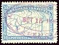 1896 10c Venezuela violet oval Valencia Yv55 Mi49.jpg