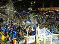 1906 Ultras tifo at Dynamo at Earthquakes 2010-10-16 2.JPG