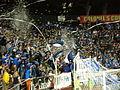 1906 Ultras tifo at Dynamo at Earthquakes 2010-10-16 2.JPG