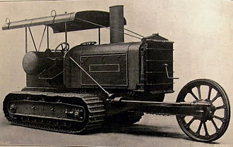 Clayton & Shuttleworth - Image: 1916 Clayton & Shuttleworth tractor 01