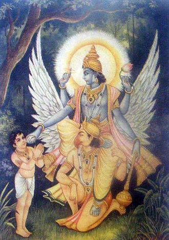 Magic and religion - Picture of Vishnu
