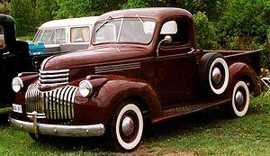 Chevrolet AK Series - Image: 1946 Chevrolet Pickup BAD917