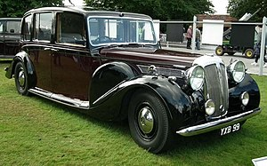 Daimler Straight-Eight engines - 5½-litre Thirty-Six 1947 example State landaulette