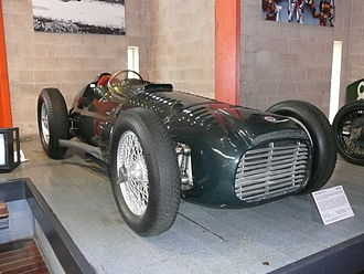British Racing Motors - The V16-powered BRM Type 15