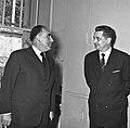 1957 Visite du ministre de l'agriculture Mr ANDRE DULIN au CNRZ-48-cliche Jean Joseph Weber.jpg