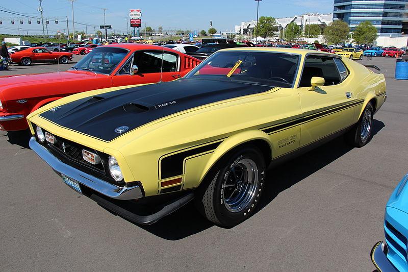 File:1971 Ford Mustang Boss 351 (14193693210).jpg
