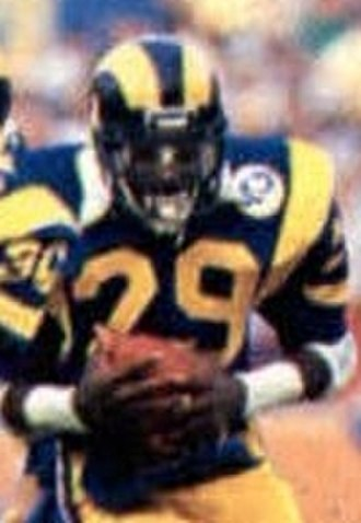2,000-yard club - Los Angeles Rams running back Eric Dickerson recorded an NFL-record 2,105 rushing yards in 1984.