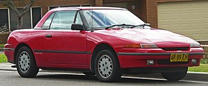 Ford Capri (Australia) - 1989–1992 Ford Capri (SA) convertible, with optional removable hardtop roof
